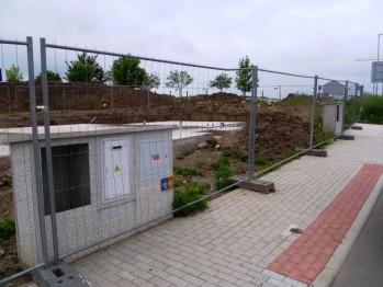 Začátek výstavby domů